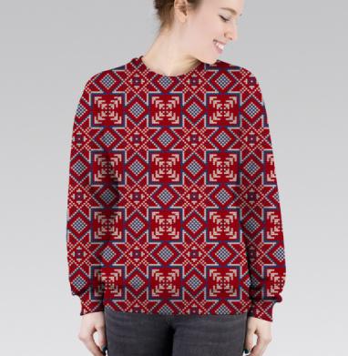 Cвитшот женский 3D - Норвежская звезда