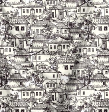 Деревенские домики - природа, Популярные
