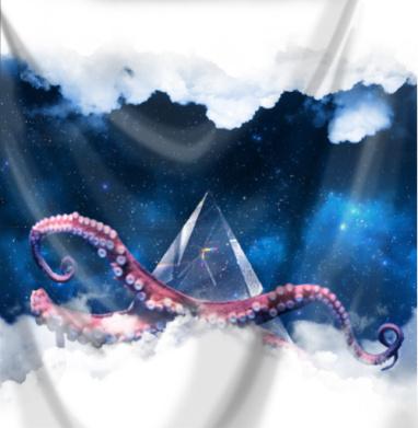 Космический осминог - космос, Популярные