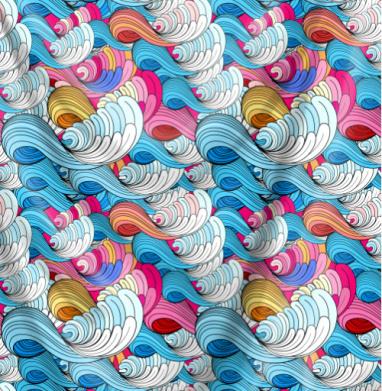 Морские абстрактные волны - морская, Популярные