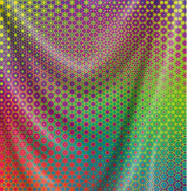 Гексанутый паттерн - геометрия, Популярные