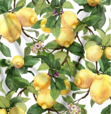 Акварельные лимоны - фрукты, Популярные