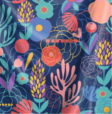 Полуночный сад - паттерн, Популярные