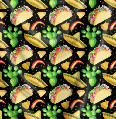 Вкусный мексиканский принт - сладости, Популярные
