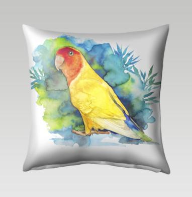 Розовощекий попугайчик, Подушка