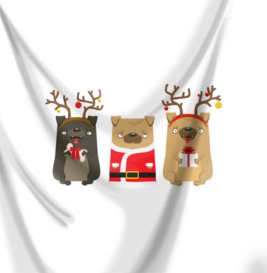 Новогодние радости - собаки, Популярные
