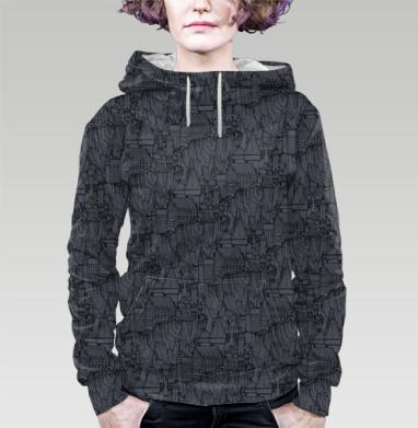 Хог , Толстовка женская с карманом 3D