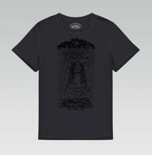 Футболка —  Шаманка и дождь от PechenieArt | maryjane.ru - дизайнерские футболки