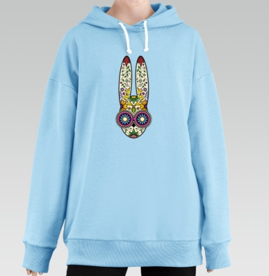 Day of the Dope, Hoodie Long Oversize Blue