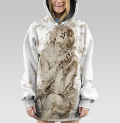 Юноша - Hoodie Oversize Dig 3D
